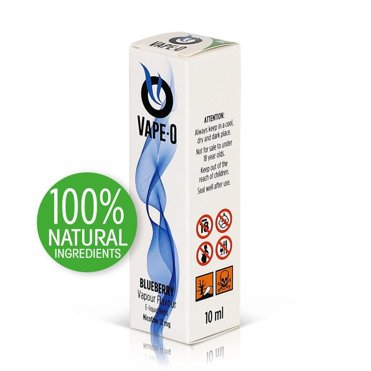 Blueberry Flavour 8mg nicotine 20ml bottle