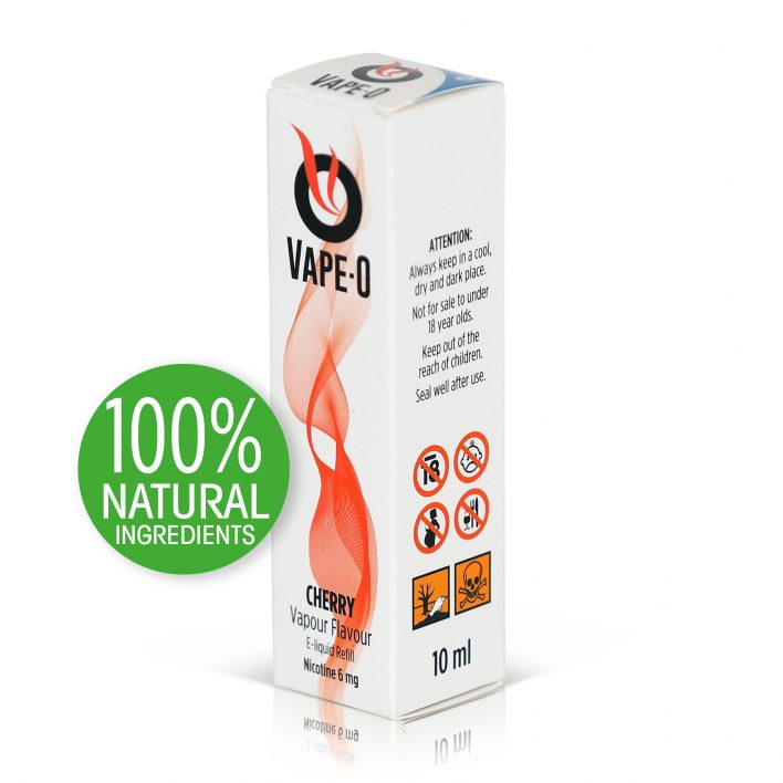 Cherry Flavour 8mg nicotine 20ml bottle